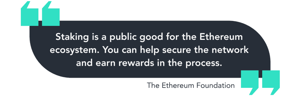 Benefits of Staking Your ETH: Eth2 Staking Rewards Explained