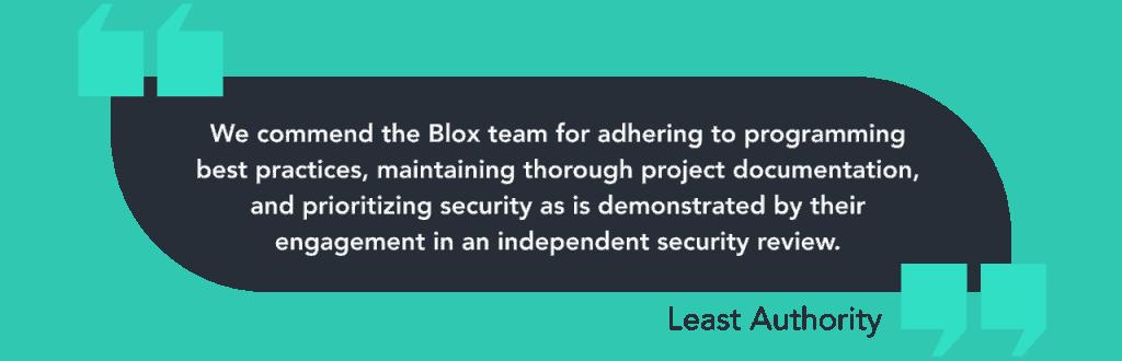 Blox Staking Mid-Audit Update