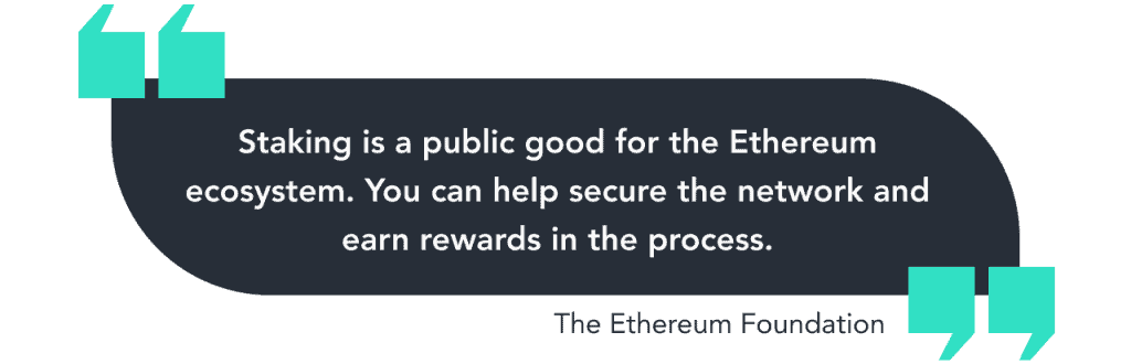 Running an Eth2 Validator for the Greater Good of Ethereum